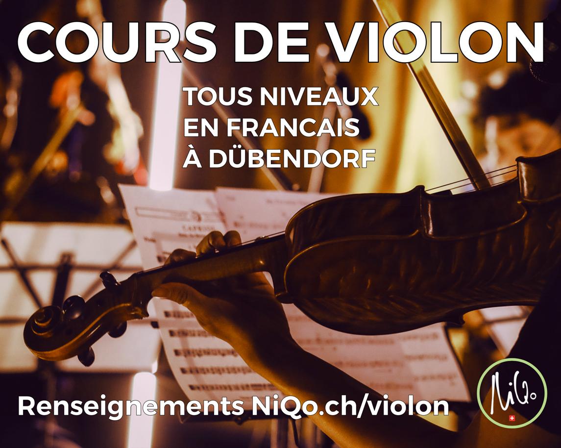 Cours de Violon à NiQo Arts Studio and Gallery