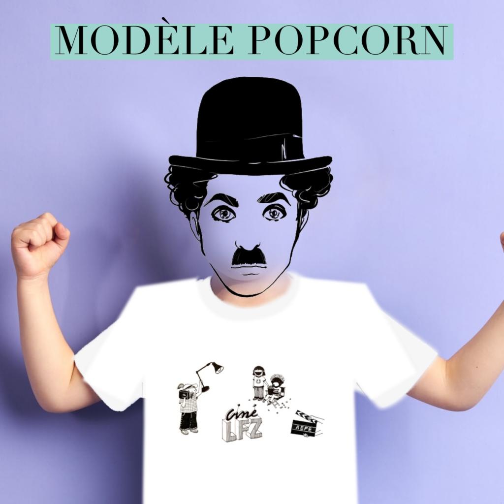 T-Shirt PopCorn
